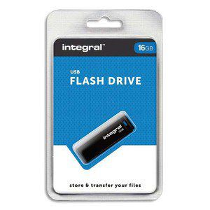 INTEGRAL Clé USB 2.0 16Go Black