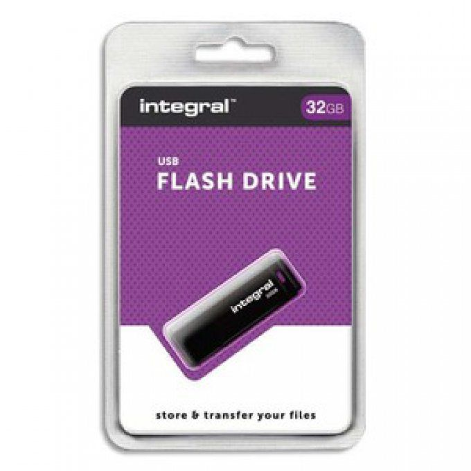 INTEGRAL Clé USB 2.0 32Go Black