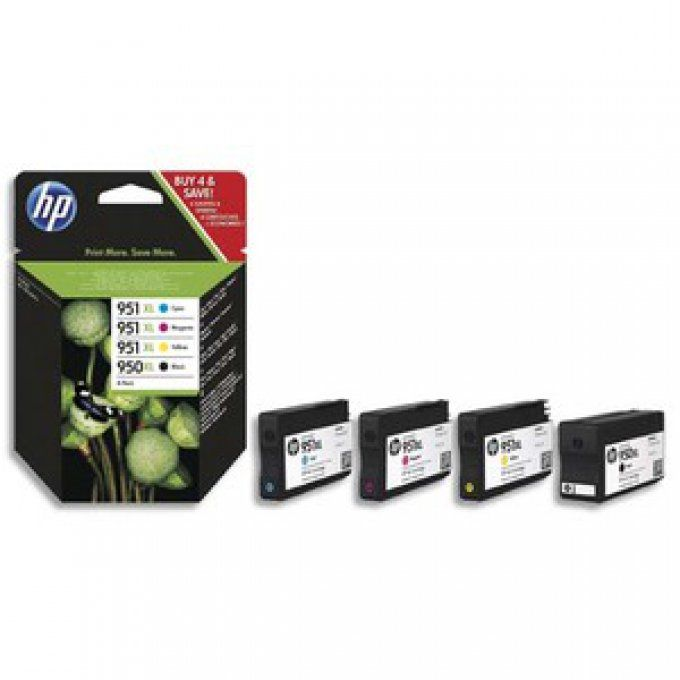 HP 950/951 XL Pack